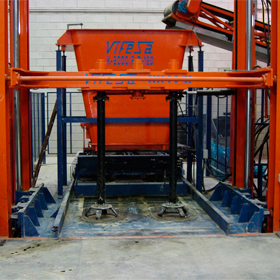 Máquina de tubos de hormigón automática múltiple Vifesa Serie K-2000 para grandes producciones